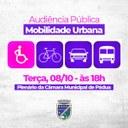 Câmara de Pádua realiza Audiência Pública para discutir a Mobilidade Urbana