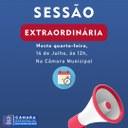 Sessão Extraordinária 14 de Julho